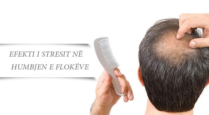 Efekti i Stresit në Humbjen e Flokëve