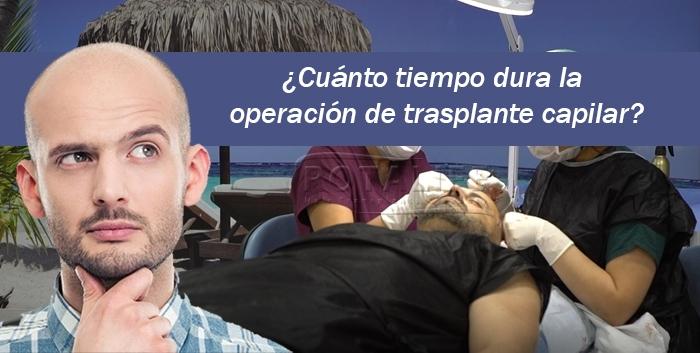 ¿Cuánto Tiempo Dura la Operación de Trasplante Capilar?