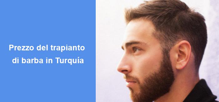 Prezzo del trapianto di barba in Turquía