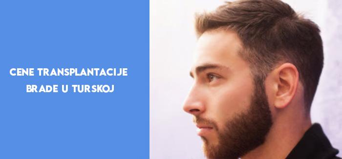 Cene transplantacije brade u Turskoj